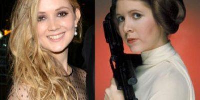 Billie Lourd afirma que no será la hija de la princesa Leia en