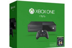 Xbox One con 1TB de memoria interna. Foto:Xbox