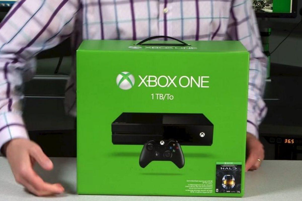 """Incluye el juego """"Halo: The Master Chief Collection"""". Foto:Xbox"""
