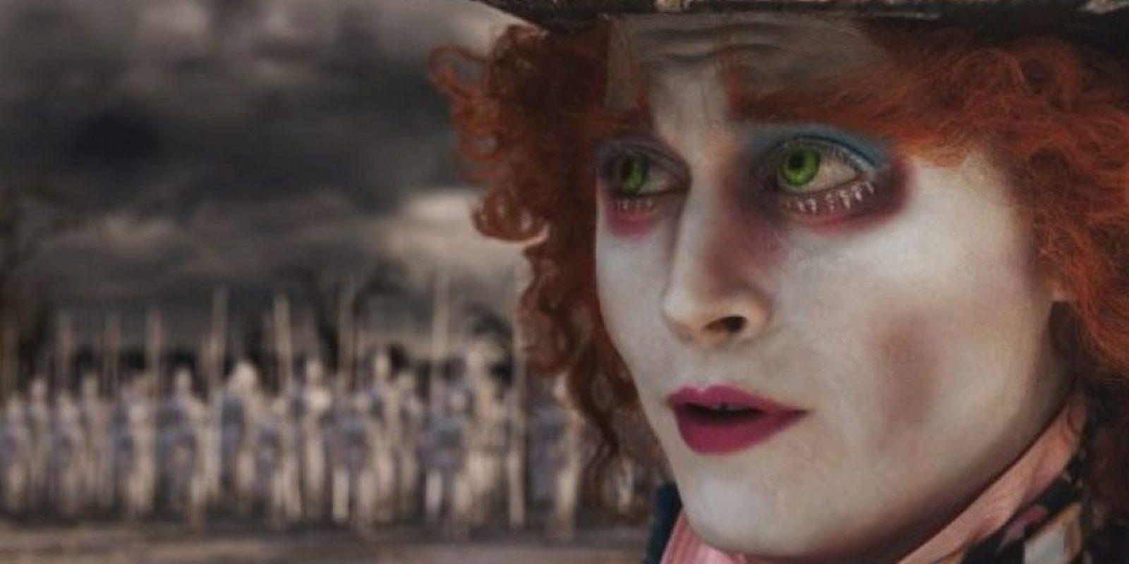"""En 2010, el actor interpretó al """"Sombrerero Loco"""" en la renovada versión de """"Alicia en el País de las Maravillas"""". Foto:IMDB"""