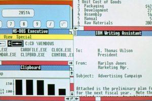 En 1987, Windows anunciaba sus nuevas actualizaciones. Windows 2.0 al 2.11 se lanzarán desde esa fecha hasta el año 1990. Foto:windows.microsoft.com