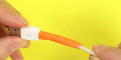 7) Con un pegamento moldeable que se convierte en goma. Foto:YouTube