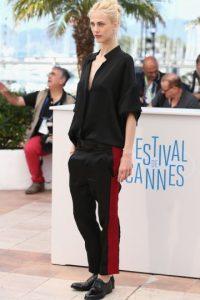 En 2014, durante el festival de cine de Cannes, Delevingne se mostró muy amorosa con su amiga, la modelo Aymeline Valade. Foto:Getty Images