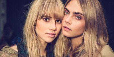 Las imágenes de las modelos causaron gran polémica en Internet. Foto:vía instagram.com/caradelevingne