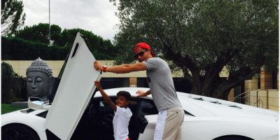 """Cristiano Ronaldo presume sus """"carcachas"""" en Instagram"""