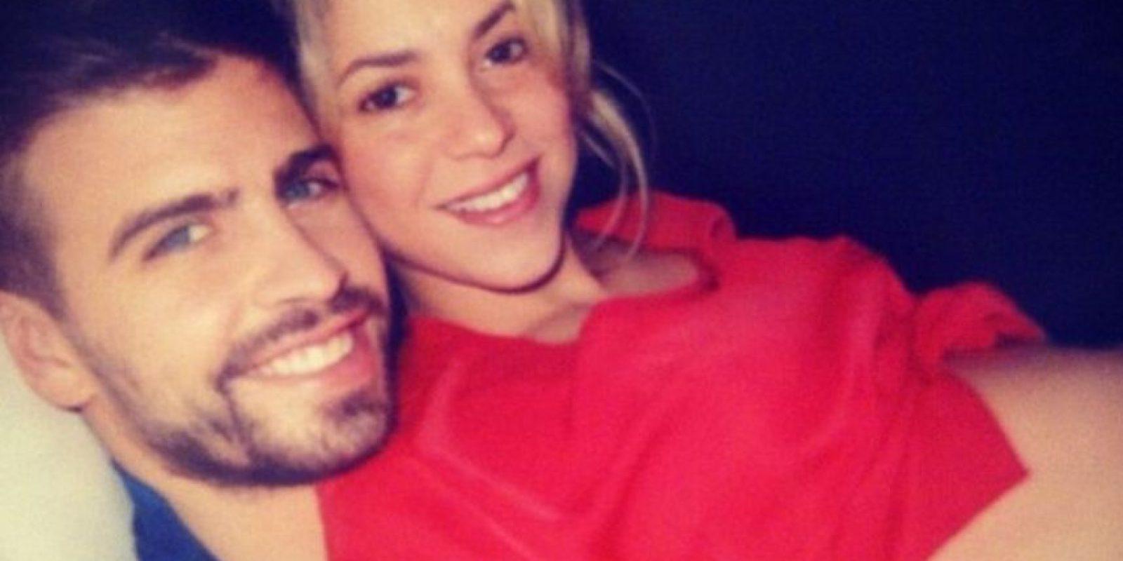 Shakira y Gerard Piqué son los padres de Milan Foto:Instagram/Shakira