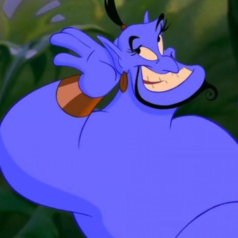 """Dicho medio informó que el posible nombre de la cinta sería """"Genies"""" y se centraría en el """"Reino de los genios"""" y cómo """"Genio"""" terminó esclavizado en la lámpara. Foto:vía facebook.com/DisneyAladdin"""