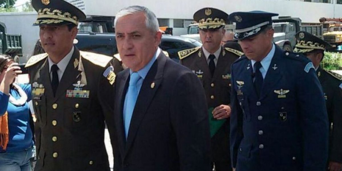 Congreso decide que Otto Pérez no sea investigado