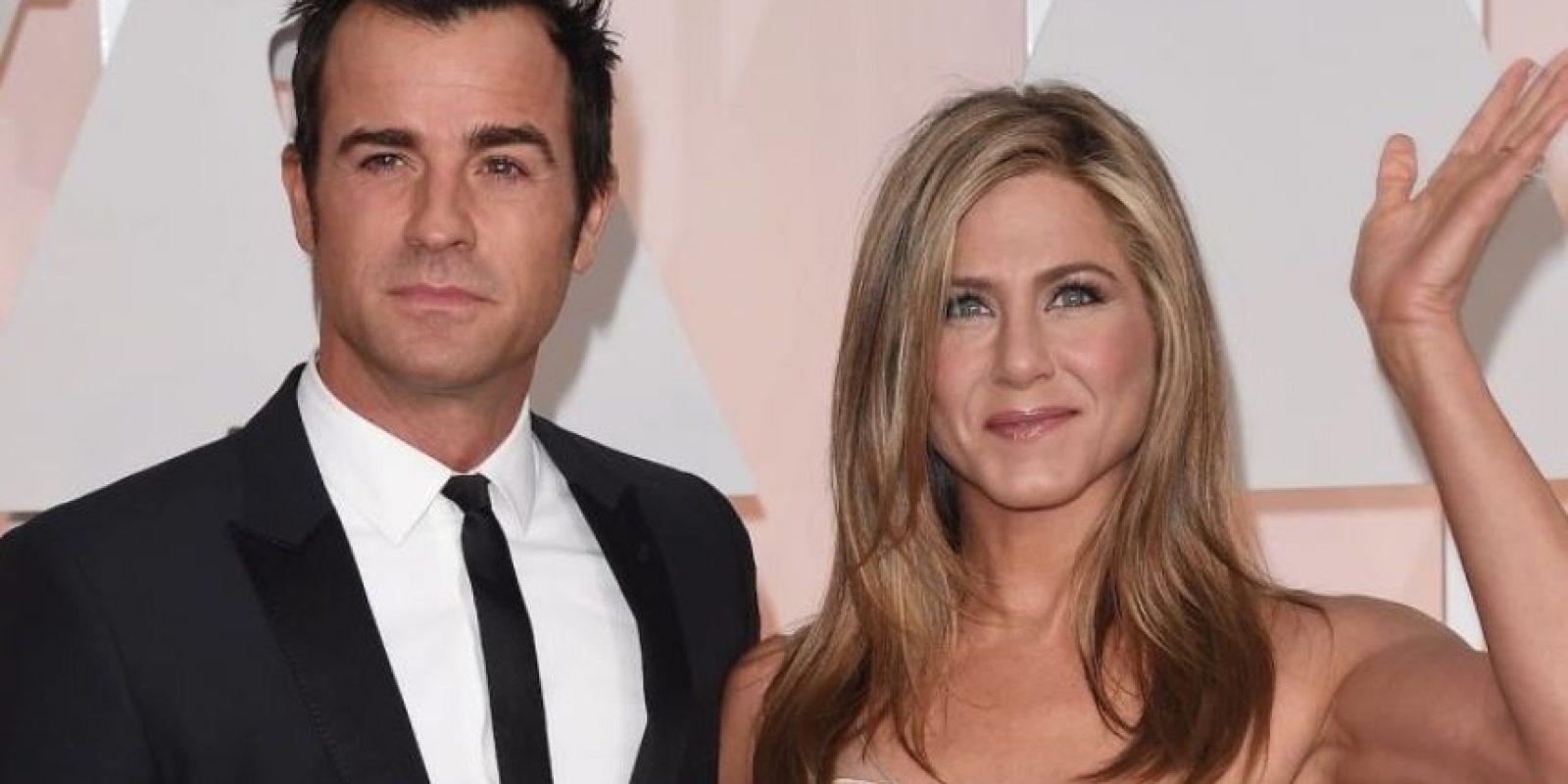 Aniston tiene 45 años, mientras que Theroux tiene 43. Foto:Getty Images