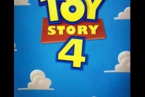 "La cuarta entega de ""Toy Story"" Foto:vía twitter"