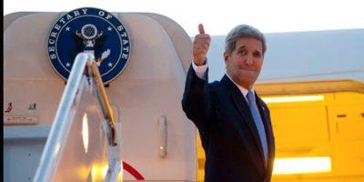 El actual secretario de Estado de la administración Obama, John Kerry, fue el encargado de reinaugurar la misión diplomática que se encuentra ubicada en el Malecón de La Habana. Foto:AFP
