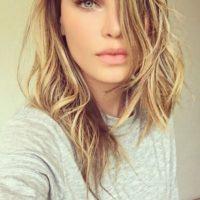 La cantante mexicana compartió un selfie de su cambio de look. Foto:via instagram.com/belindapop