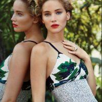 """Luego del polémico """"celebgate"""", para la edición de marzo de la revista """"Vanity Fair"""", la actriz aceptó posar desnuda. Foto:Vanity Fair"""