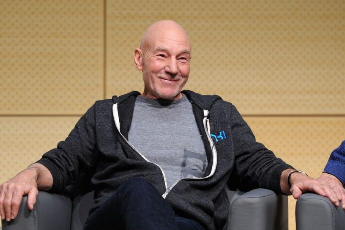 """Ahí consiguió su icónico papel del capitan """"Jean-Luc Picard"""" en la serie """"Star Trek: La nueva Generación"""" Foto:Getty Images"""