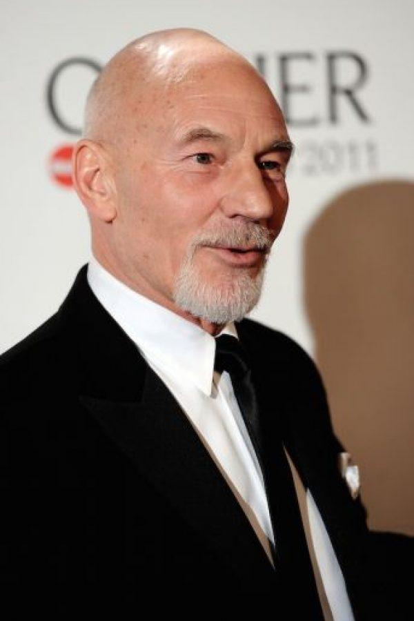 """Donde interpreta al profesor """"Charles Xavier"""", el mentor de los mutantes. Foto:Getty Images"""