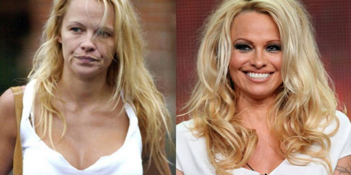 Estas famosas demuestran lo mucho que el maquillaje hace por ellas