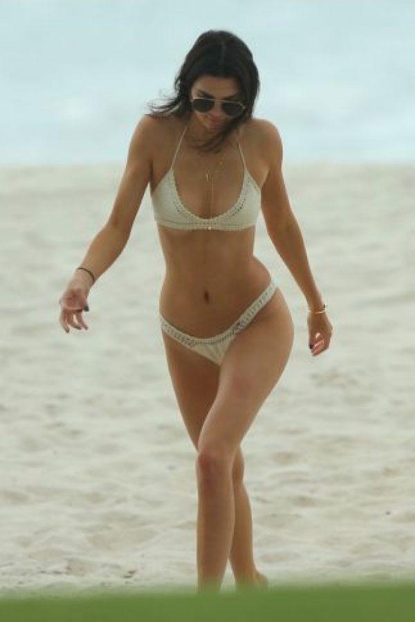 Y su hermana, la modelo Kendall Jenner. Foto:The Grosby Group