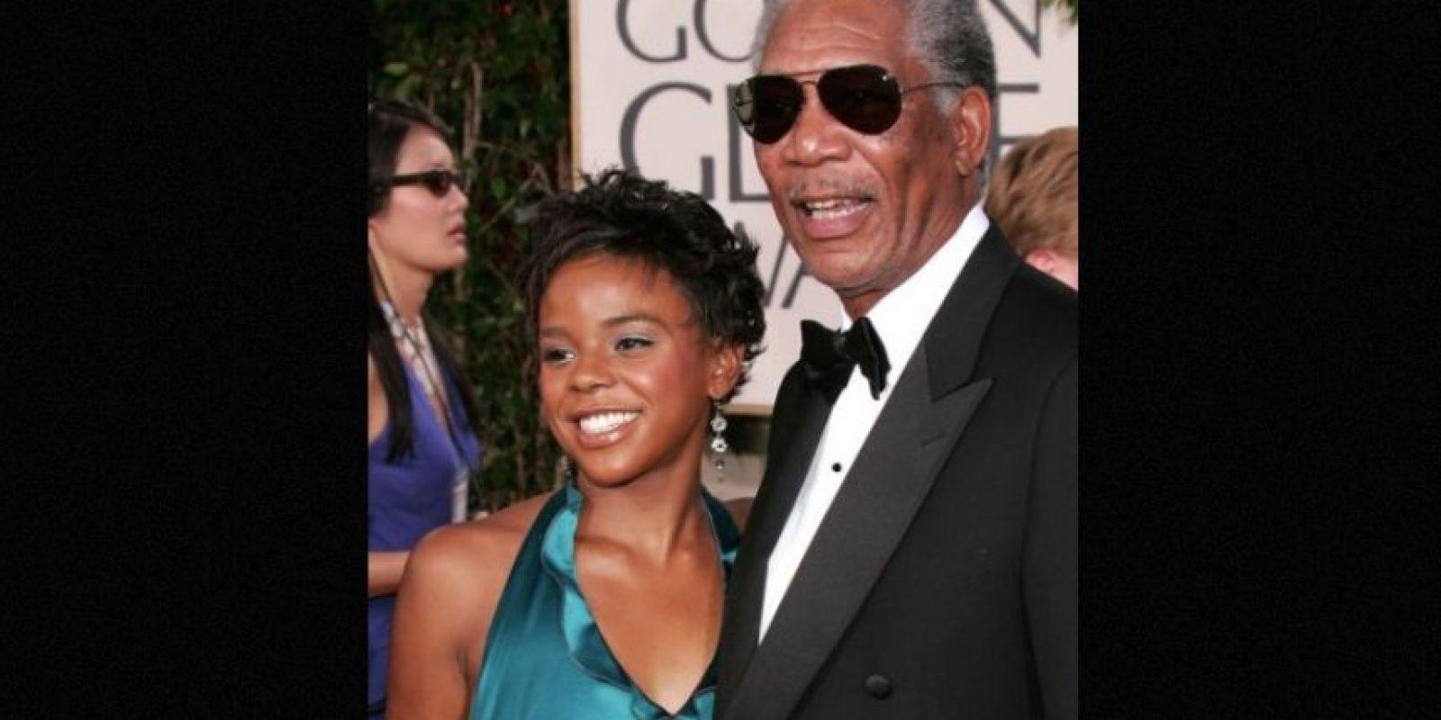 E'Dena, la nieta adoptiva del actor Morgan falleció tras ser atacada por su exnovio. Foto:Getty Images