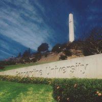 Pero la producción utilizó diversos espacios de la Universidad de Pepperdine en Malibú, California para desarrollar la historia. Foto:vía instagram.com/pepperdine