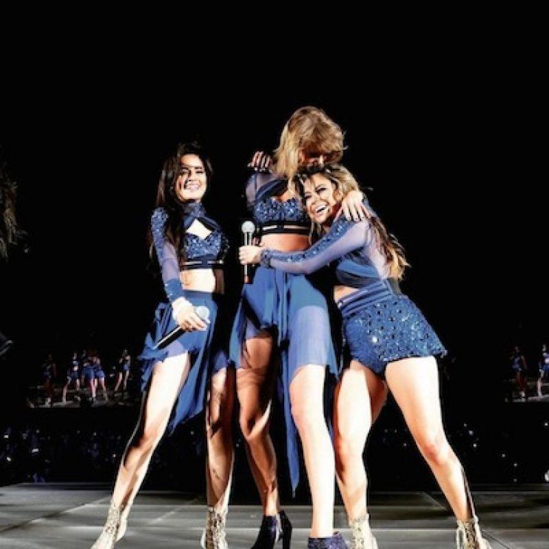 Camila Cabello y Ally Brooke Foto:Instagram/TaylorSwift