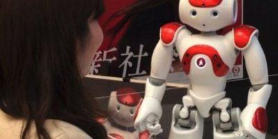 El robot que atienden los bancos japoneses Foto:instagram.com/345triangle/