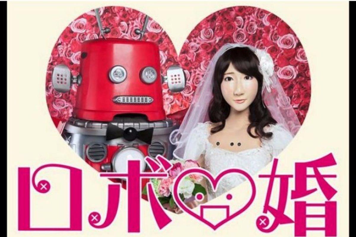 Esta es la primera boda entre robots del mundo Foto: twitter.com/maywadenki