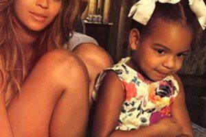 En 2012 se convirtió en madre de la pequeña Blue Ivy Carter. Foto:vía instagram.com/beyonce