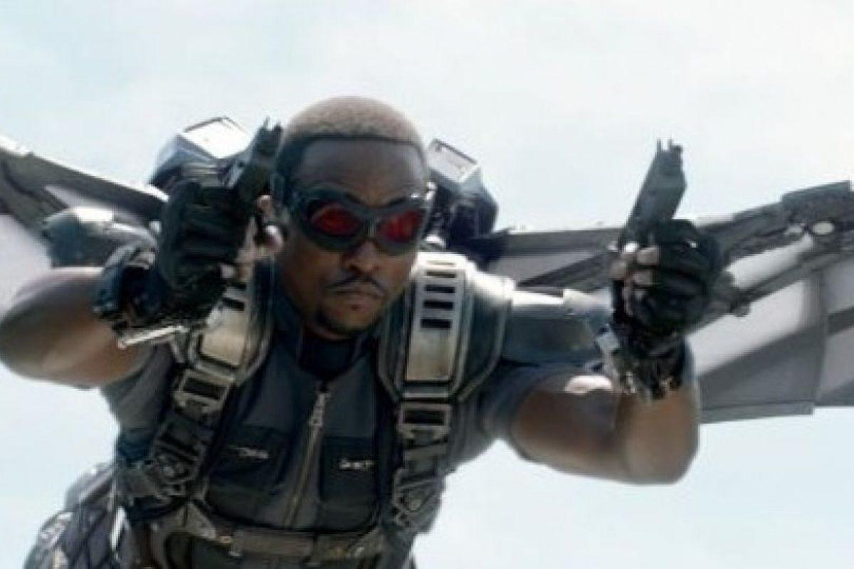 """Falcon"" (Anthony Mackie) Foto:Marvel"