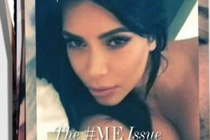 "Kim Kardashian Foto:""Interview Magazine"""
