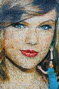 Y la pieza final se develó en el complejo Legoland Windsor Resort, en Reino Unido. Foto:Getty Images
