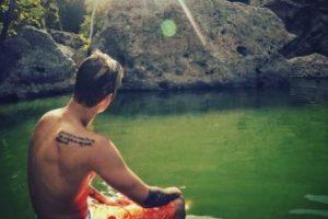 """""""Y creo que eso es lo especial del emotivo momento del otro día, que era auténtico. Simplemente quería algo así"""", concluyó el cantante. Foto:vía instagram.com/justinbieber"""