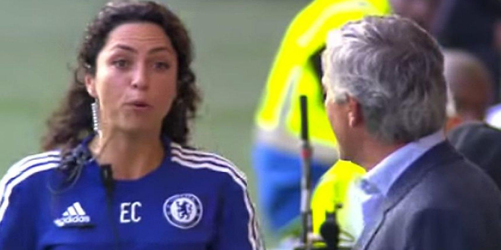 Eva Carneiro es la mediática doctora del Chelsea que causó revuelo por su confrontación con José Mourinho. Foto:Vía youtube.com
