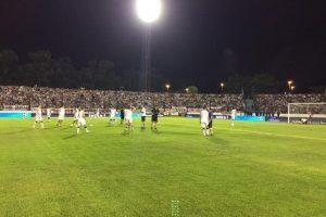 """Liniers juega en la cuarta división del torneo argentino, por lo que su encuentro con los """"Millonarios"""" fue muy especial. Foto:twitter.com/CALiniers"""