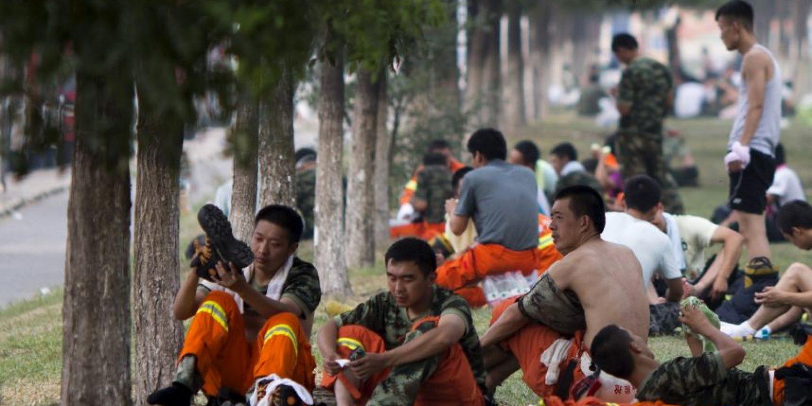 La mayoría de las víctimas son bomberos Foto:AP