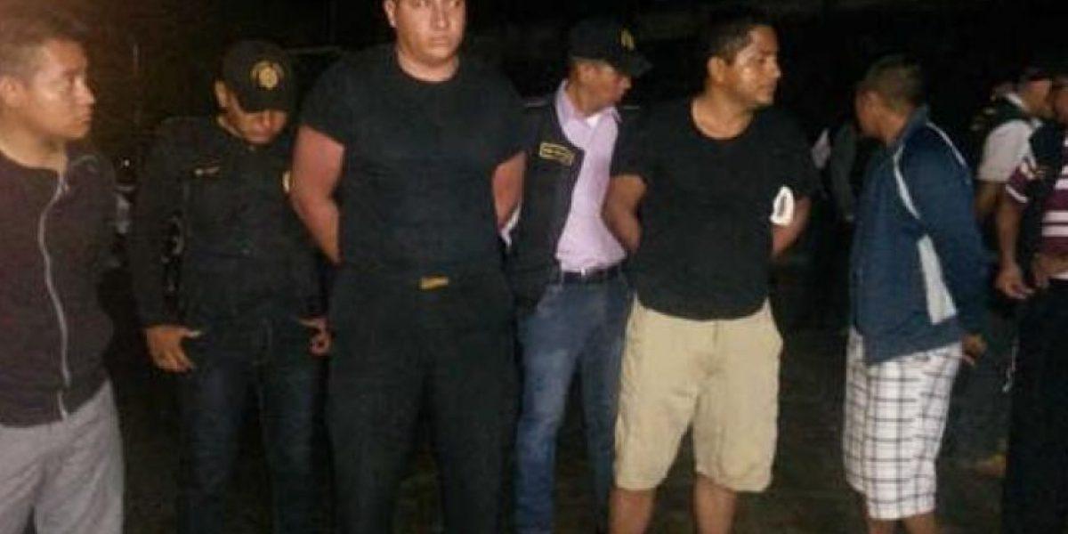 Ellos son los 4 agentes de la PNC que asaltaron a atletas hondureños no videntes