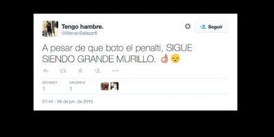 Y de todos modos, agradecen el gol de Murillo contra Brasil. Foto:vía Twitter