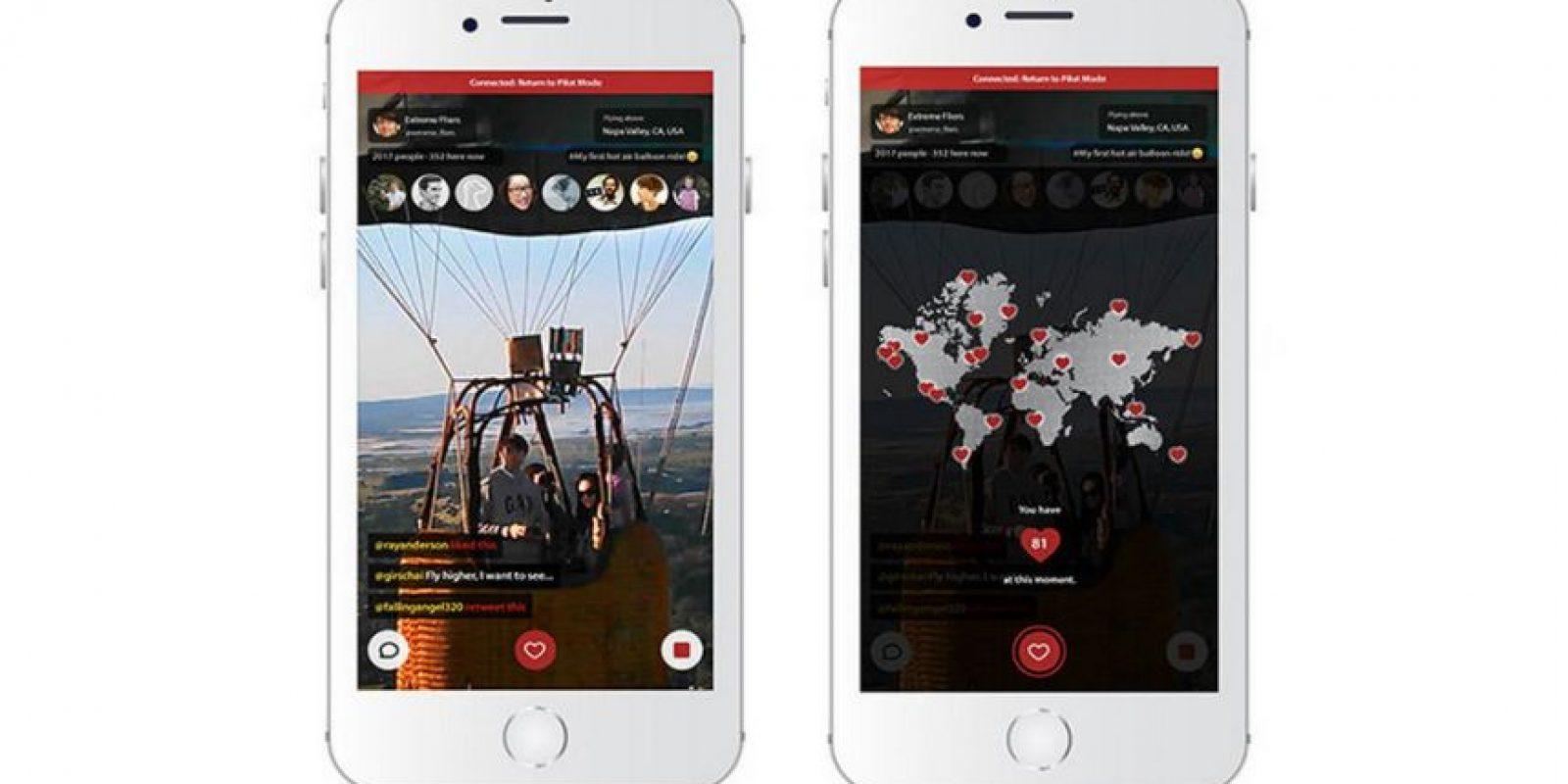 Y cuenta con una aplicación estilo red social para compartir fotos, video y comentarios con los usuarios Foto:Vernon Kerswell/Micro Drone 3.0