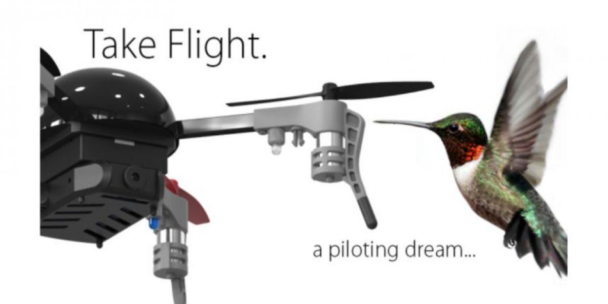 VIDEO: Este es el dron más pequeño del mundo