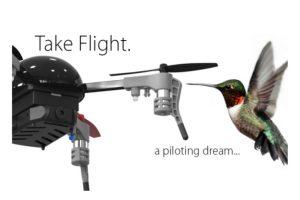 El dispositivo volador es del tamaño de un colibrí Foto:Vernon Kerswell/Micro Drone 3.0
