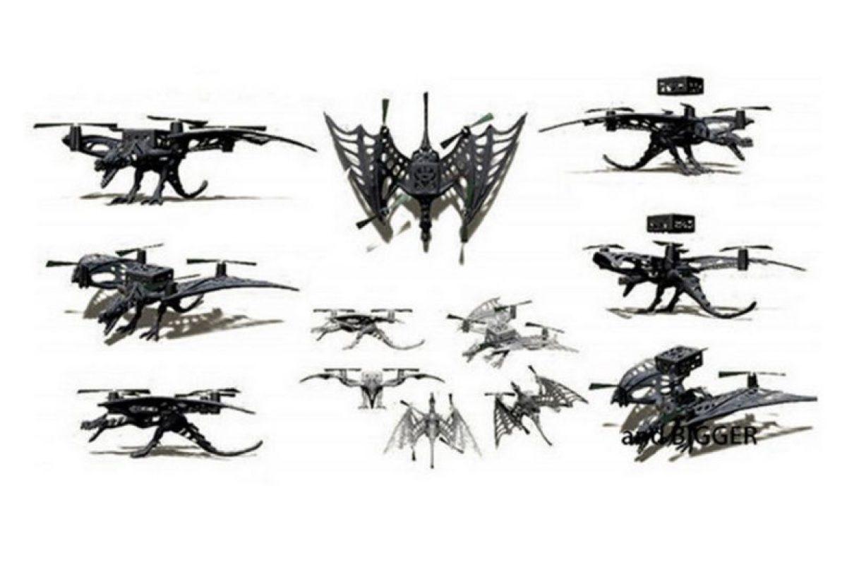 Además puede agregarse un diseño personalizado impreso en 3D Foto:Vernon Kerswell/Micro Drone 3.0