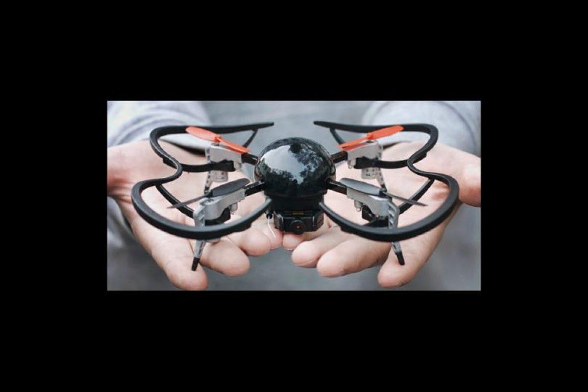 El proyecto superó la meta por más del 2000%. Será comercializado a principios de 2016 Foto:Vernon Kerswell/Micro Drone 3.0