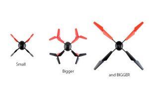 También puede extender su tamaño Foto:Vernon Kerswell/Micro Drone 3.0