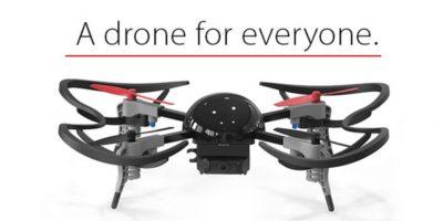 """Su lema es: """"Un dron para todos"""" Foto:Vernon Kerswell/Micro Drone 3.0"""