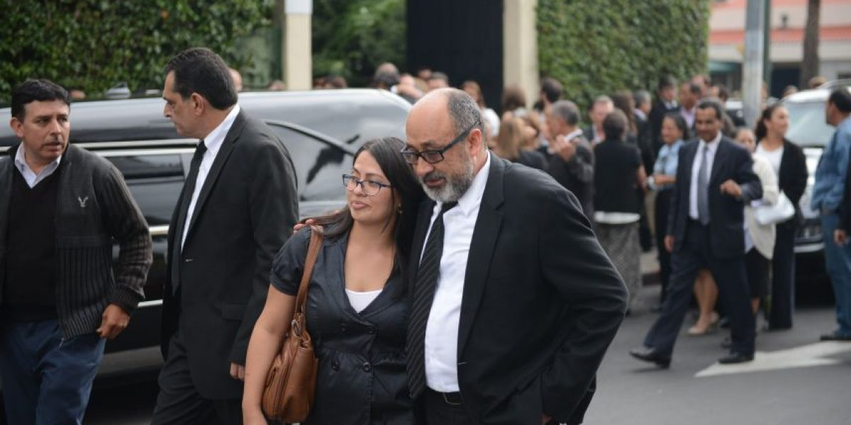 """Fotos. Despiden a """"Pancho"""", el abogado de Ríos Montt"""