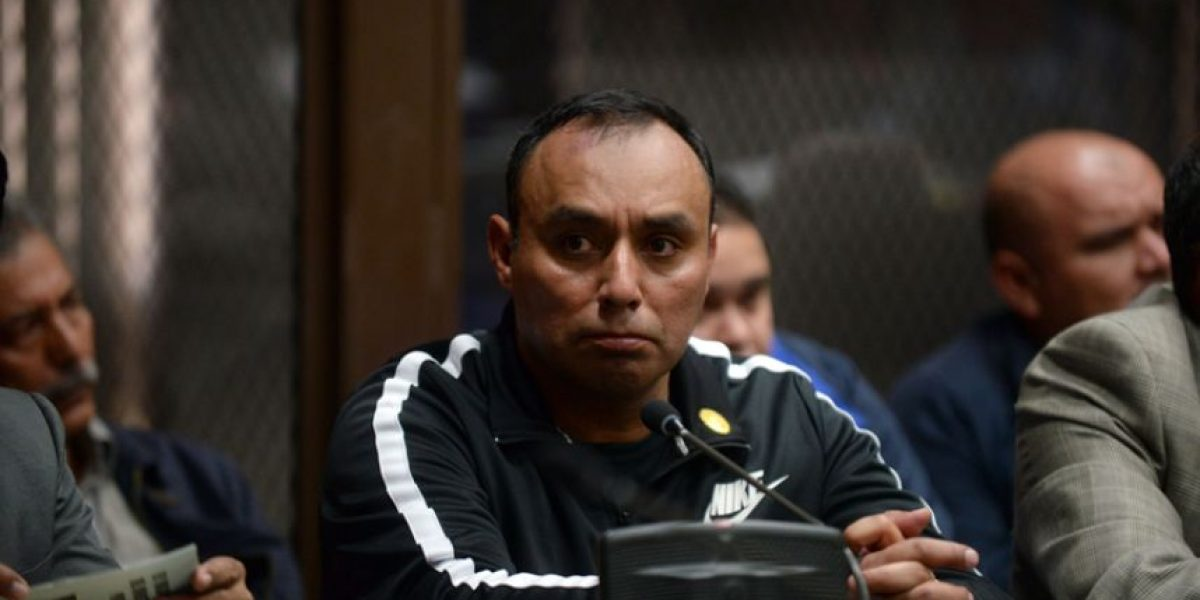 Reo Byron Lima es llevado al cuartel Matamoros