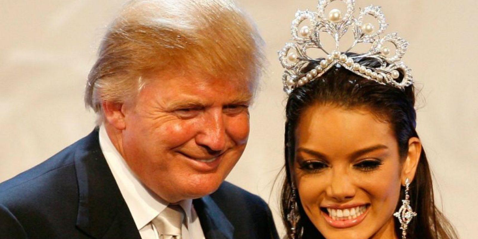 """""""Cuando México envía a su gente, no envía lo mejor, no los envía a ustedes. Están enviando gente con montones de problemas. Están trayendo drogas, están trayendo crimen, son violadores y algunos asumo que son buenas personas, pero he hablado con guardias fronterizos y me dicen lo que estamos recibiendo. Y tiene sentido común; no nos envían a la gente adecuada"""", expresó el magnate en su primer discurso como precandidato presidencial. Foto:Getty Images"""