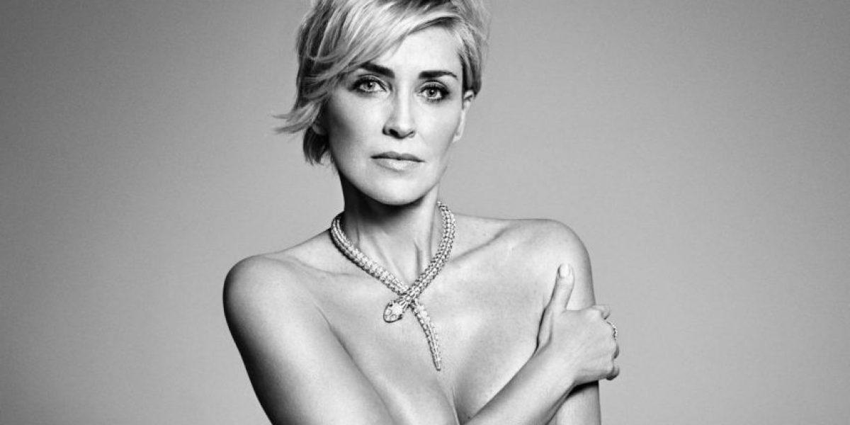 Fotos sensuales de Sharon Stone siguen impactando en las redes sociales