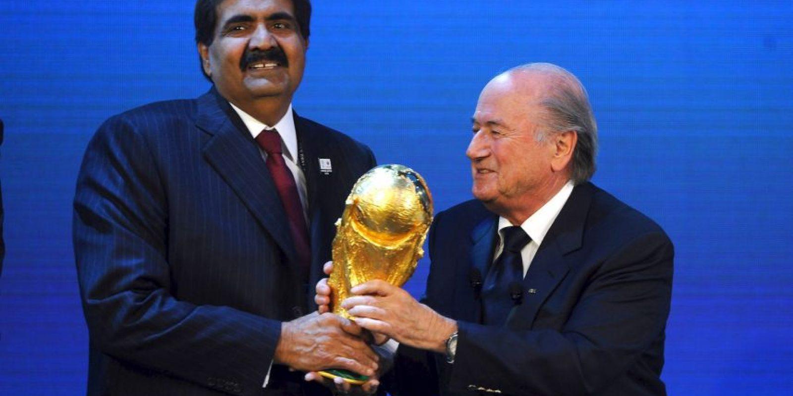 ¿Cómo pudo Catar ganar la sede para un Mundial? Foto:Getty Images