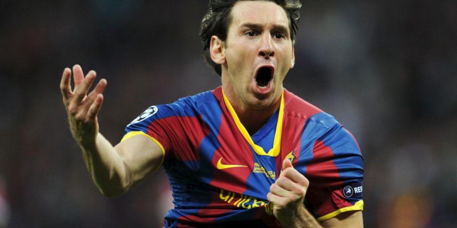 Ya lo ha hecho dos veces: en 2011 ante el Manchester United. Foto:Getty Images