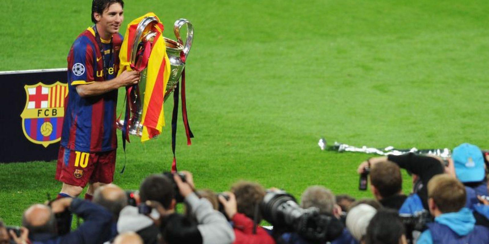 Si Leo Messi anota frente a la Juventus, será el jugador que en más finales ha marcado. Foto:Getty Images